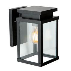 Wandlamp Jersey M incl. Outdoor Wall Lantern, Outdoor Wall Lighting, Outdoor Walls, Porch Lamp, Front Door Lighting, Exterior Wall Light, Wall Lights, Ceiling Lights, Black Lamps