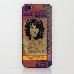 Jim Morrison iPhone & iPod Skin by Ray Stephenson - $15.00