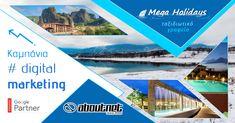 Η #aboutnet (Premier Google Partner) ανέλαβε την καμπάνια #digitalmarketing με διαφημίσεις στην #google για το ταξιδιωτικό γραφείο Mega Holidays.