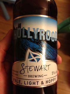 Stewart Brewing 'Hollyrood' IPA - 5% Best Beer, Ipa, Beer Bottle, Liquor, Brewing, Alcohol, Beer Bottles, Liqueurs