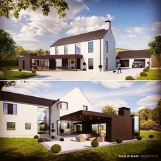A new design for a mature rural site recently submitted