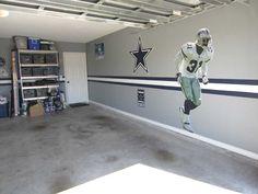 DIY - Dallas Cowboys Garage