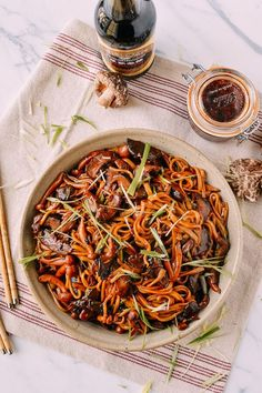 We've partnered with Pearl River Bridge to bring you this post. Enjoy! These Soy Sauce Braised Wild Mushroom Noodles are earthy, flavorful, rich, and savory, all with the benefit of being totally vegan! Yes, that rarest of times has come again, where we have a great vegan recipe to share with you all. Usually, aside …