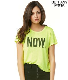 Now Or Never Graphic T - Aeropostale