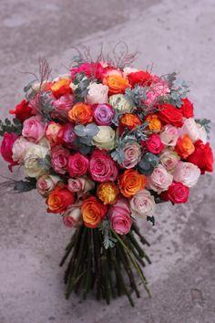 Buchet cu 65 trandafiri – Flowers of Soul Floral Wreath, Roses, Wreaths, Home Decor, Homemade Home Decor, Flower Crown, Pink, Rose, Deco Mesh Wreaths