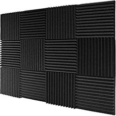 20 Best Soundproofing Materials + Best Ways to Install Them & Where Soundproof Foam Panels, Soundproofing Walls, Soundproofing Material, Studio Foam, Music Studio Room, Acoustic Wall, Acoustic Panels, Bass Trap, Man Cave Art