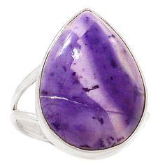 Tiffany Stone 925 Sterling Silver Ring Jewelry s.10.5 SR180844   eBay