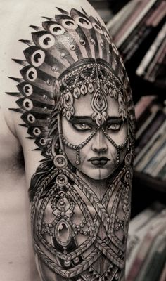 Tatto done by Anderson Luna- Shop: Saved Tattoo Brooklyn NY -I love this!!! Soo bad-A
