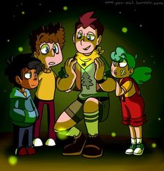 Camp Camp<<< OMG MAX ALMOST SMILING IS ADORABLE DAVID SHOWING THE TRIO FIREFLIES IS ADORABLE THE FACT THAT NIEL NEVER REALLY SEES OR APPRECIATES FIREFLIES BECAUSE HES ALWAYS ON THE COMPUTER AND NIKKI EVEN THOUGH SHE ALWAYS IS OUTSIDE SHE STILL LOVES THE FIREFLIES GAH