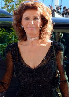 Sophia Loren Cannes 2014 More