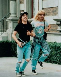 Wayne's World (technically from the 80's but the cult following was still strong during the 90's)