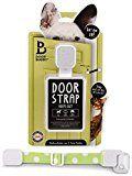 Door Buddy Adjustable Door Strap & Latch. Easy Way To Dog Proof Litter Box. No More Pet Gates Or Cat Doors. Convenient Cat & Adult Entry. No Tools Installation. Stop Dog Eating Cat Poop Today! (Green)
