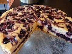Made from scratch Blueberry Cheesecake is a customer's favorite. By the slice or the whole pie! I mean CAKE!