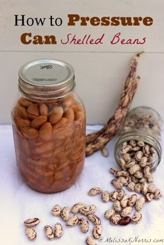 How to pressure can shelled beans using the raw pack method. I love how fast these can become a meal and I don't have to worry about soaking them when I realize dinner is like 20 minutes out. Get these in your food storage now, perfect when water and time is scarce.