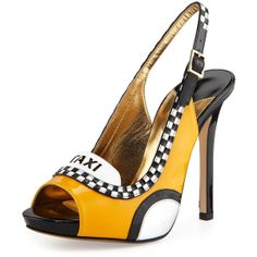 Kate Spade 'Le Taxi' Slingback Pumps €405 Spring 2014 #Shoes #Heels