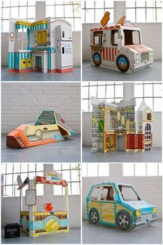 cute.  The girls would play for hours with one of these.  If I could only find the time to build one now.  :)