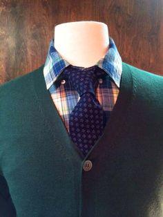 Blade + Blue - Elbert Navy Floral Print Tie :: Maxton Men