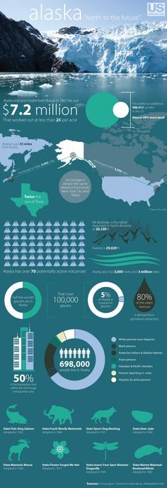 Alaska Infographic - loveinfographic.com