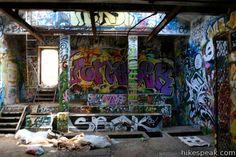 "Rustic Canyon's Nazi Ruins ""Murphy Ranch""  in the Santa Monica Mountains. Hiking"