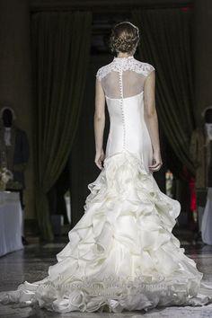 MARIA LUISA wedding dress, back
