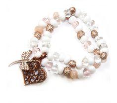 Dragonfly Pebble Bracelet Kit £14.65 #craft #bijouxbeads #makeyourown #bracelet #beads Metal, Jewelry Making, Beaded Bracelets, Bling, Kit, Dragonflies, Beads, Jewelry Ideas, Jewlery