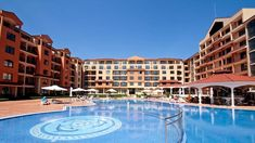 Hotel & SPA Diamant Residence- All Inclusive Hotel Pool, Hotel Spa, Sun Chair, Sunny Beach, Outdoor Swimming Pool, Beautiful Hotels, Spa Treatments, Workout Rooms, Cool Pools