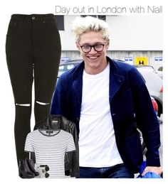 """""""Day out in London with Niall"""" by mmbrambilla ❤ liked on Polyvore featuring The Ragged Priest, H&M, Topshop, Natural Life and Christian Dior"""