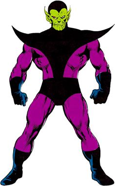 Super-Skrull - Marvel Comics - Fantastic Four character