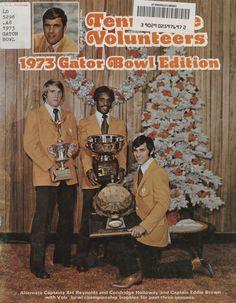 1973 Football Bowl Guide - UT vs Texas Tech (Gator Bowl)