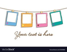 Cute frame vector image on VectorStock Flower Background Wallpaper, Cartoon Background, Cv Photoshop, Cute Twitter Headers, Frame Download, Cute Love Pictures, Background Powerpoint, Bullet Journal Notes, Cute Frames