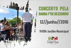 Campomaiornews: Concerto da Banda 1º Dezembro no Coreto do Jardim ...