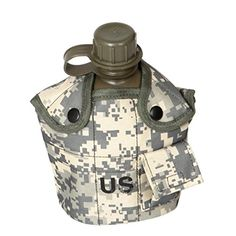 BinmerTM 1 Pc Water Bottle Camouflage US Camping Hiking Army Military Outdoor Sports E -- Learn more by visiting the image link.(This is an Amazon affiliate link and I receive a commission for the sales)