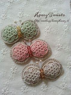 蝶 |honey*tomatoのブログ