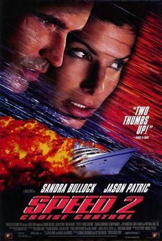 """Speed 2: Cruise Control"" movie poster, 1997"