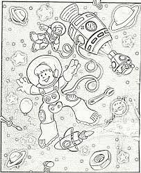 Resultado de imagen para dibujos del cosmos para colorear