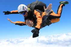Tandem jumps from m altitude, 1 minute free falling at 200 km/h, video and photos are available! Tandem Jump, Skydiving, Photos, Free, Pictures