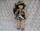 """Sun Dress 8 Piece Outfit Fit American Girl or other 18"""" Doll"""