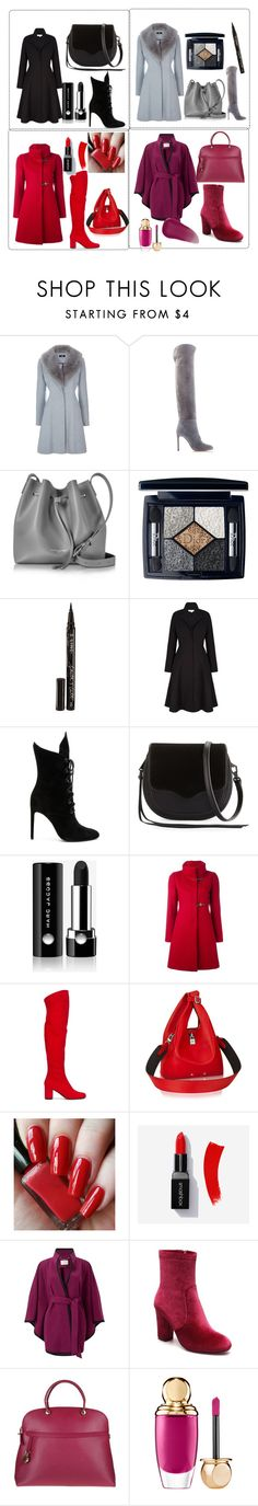 """Untitled #564"" by domla ❤ liked on Polyvore featuring Sergio Rossi, Lancaster, Christian Dior, Smith & Cult, Kendall + Kylie, Rebecca Minkoff, Marc Jacobs, FAY, Yves Saint Laurent and Jacques Vert"