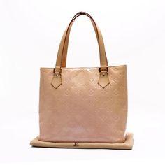 Louis Vuitton Houston  Monogram Vernis Shoulder bags Pink Patent Leather M91054
