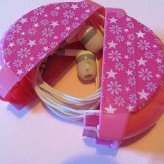 Kopfhörerbox / Headphone container / Upcycling