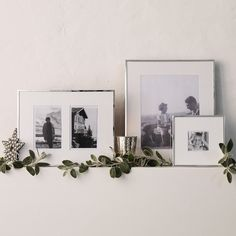Fine Silver Frame 4x6 - Photo Frames | The White Company