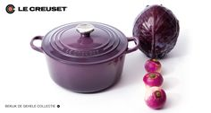 Just bought myself a large Le Creuset cast iron pot in this color, so excited.