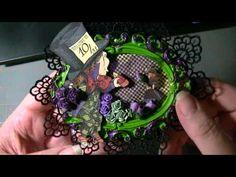 Sneak Peak at Graphic 45 Halloween in Wonderland TP Mini Album