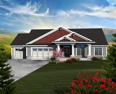 Ranch House Plan 97370