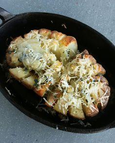 Blooming Baked Potato
