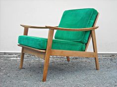 Danish Modern Lounge Chair Mid Century by jojosvintagecupboard, $250.00