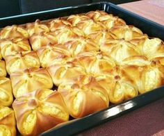 Slovak Recipes, Hungarian Recipes, Sweet Recipes, Cake Recipes, Bread Dough Recipe, Puff Pastry Dough, Baking And Pastry, Summer Desserts, Food To Make