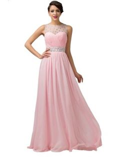 A-Line/Princess Sleeveless Scoop Ruched Chiffon Floor-Length Dresses