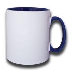 Mokken Kitty Wit-Blauw 30 cl
