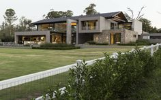 Casas modernas por Meulen Architects